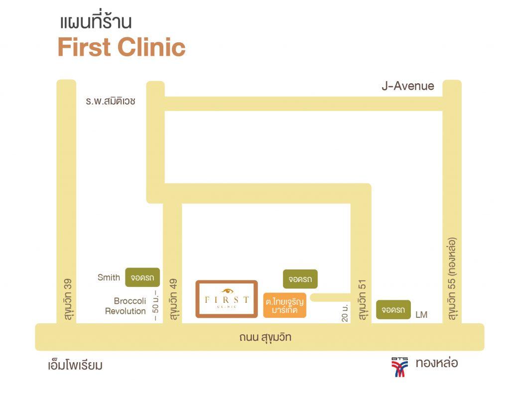 แผนที่ First Clinic
